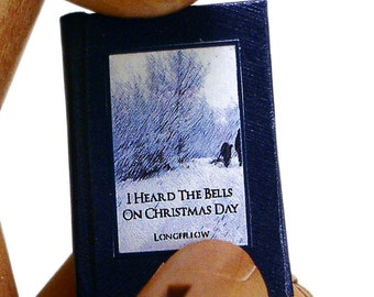 I Heard The Bells On Christmas Day  -  Miniature Book