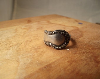 Sterling Silver Spoon Ring -