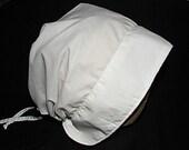Lady's Simple Historical Bonnet