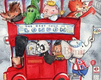 London's Craziest Double Decker Bus