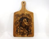 Cutting Board - Celtic Horse