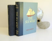 Vintage Nautical Books Navy Home Decor