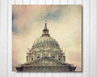 BUY 2 GET 1 FREE San Francisco Photography, California Photography, San Francisco City Hall, Wall Decor, Home Decor, Landscape Print