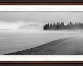 North Shore Fog  - Fine Art Print