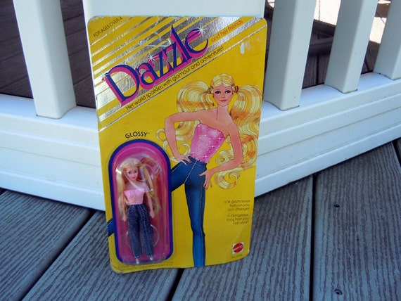 Vintage 1981 Glossy Dazzle Glam Doll by Mattel