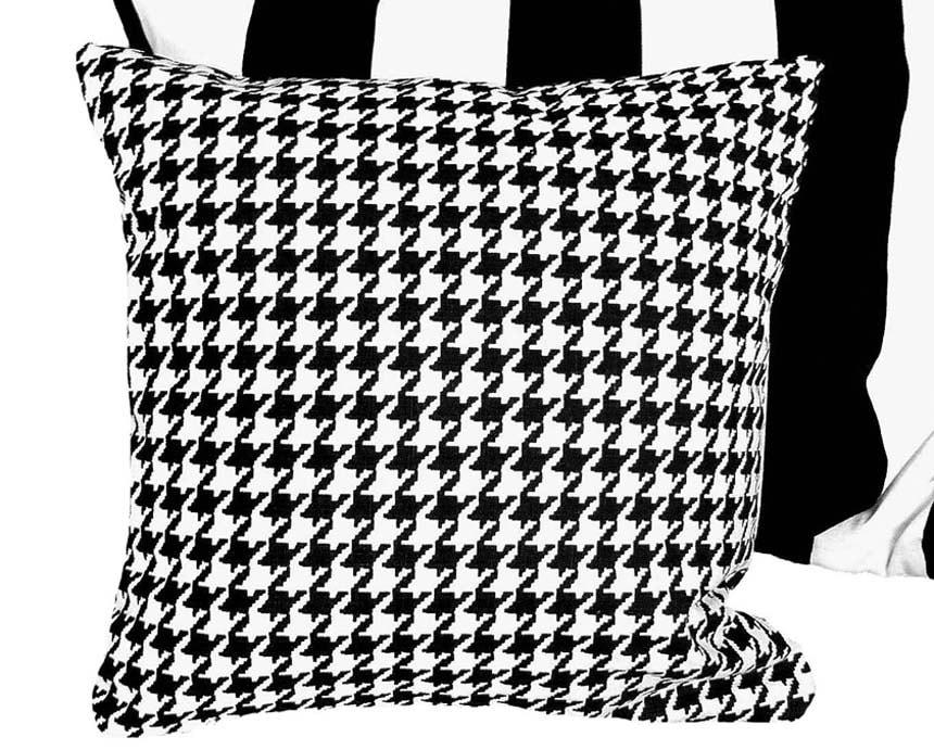 Black And White Throw Pillow Set : Set of 2 Black White Throw Pillow Shams Pair Oversized Large