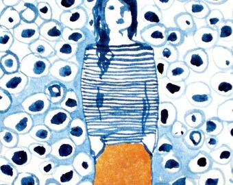 Big Girl Pants, limited edition giclee print 2/50