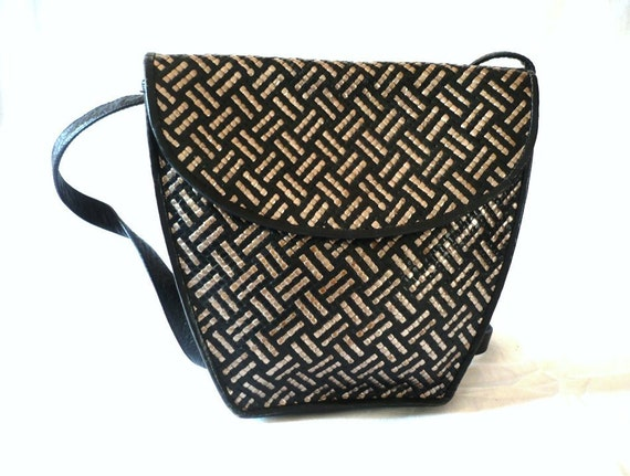 SEDUCTA French Vintage Woven Leatherr Shoulder Bag