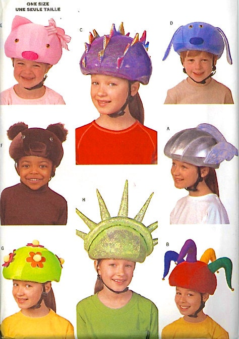 Safety Helmet Cover Sewing Pattern Child Amp Adult Covers 8