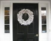 vintage music wreath, gift for musicians, teachers, music lovers, birthday, housewarming