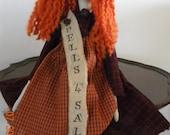 Primitive Halloween Witch Spells 4 Sale OOAK OFG Team Handmade FTTeam WRR