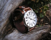 Hand-Crafted Mini Big and Bold Watch-band and Watch-face