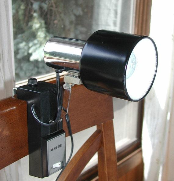 Hanging Reading Light: Vintage Headboard Reading Lamp MOBILITE Hanging Mountable
