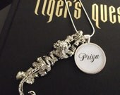 "Priya- Tigers Curse- Colleen Houck-  buy two get one free- 16"", 18"", 22"", 28"" snake chain- Ready To Ship"