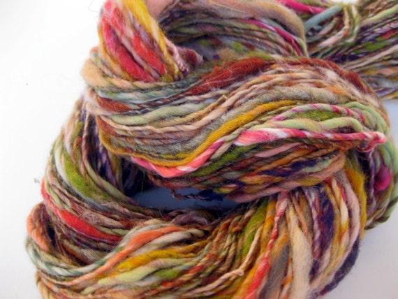 BOGO SALE-read announcment-handspun yarn, Millefiori