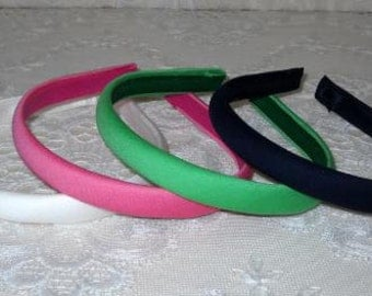 Preppy Solid Color Headband Collection Pick 4 Colors