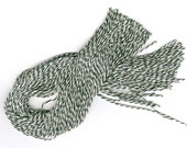 """300 12"""" Bakery Twine STRINGS for Hang Tags, Ornaments Etc. Choice of color."""