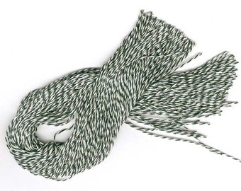 "1000 12"" Bakery Twine STRINGS for  Hang Tags, Ornaments, or What Have you - - Ties"
