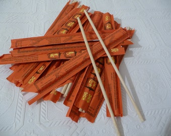 chopsticks, bamboo chopsticks, wooddn chopsticks, craft supplies, twenty chopsticks, packages, unique supplies, art, food utensils, oriental