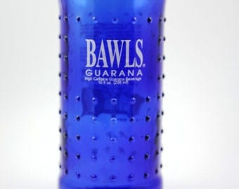 YAVA Glass - Recycled Bawls Guarana Bottle Glass