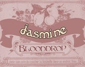 Blooddrop Jasmine Sexy Goddess Summer Simplicity Single Note Perfume Limited Edition