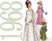 60s Bridal Gown Vintage Pattern - B34 - Vogue Bridal Design 2058