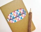 Travel Journal - Wanderlust - Mini Paper Cut Notebook