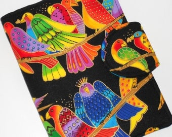 Kindle Fire HD Cover, Nook Tablet Cover, Kindle Touch Cover - Parrot Jungle eReader Cover