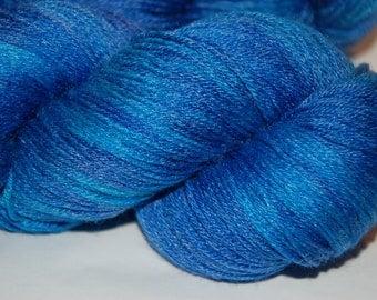 Studio June Yarn, Bamboo La La - Superwash Merino, Bamboo     Colorway: Blues