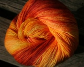 Lace weight gradient dyed Merino/silk yarn