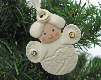 Little Angel lin Lace Ornament