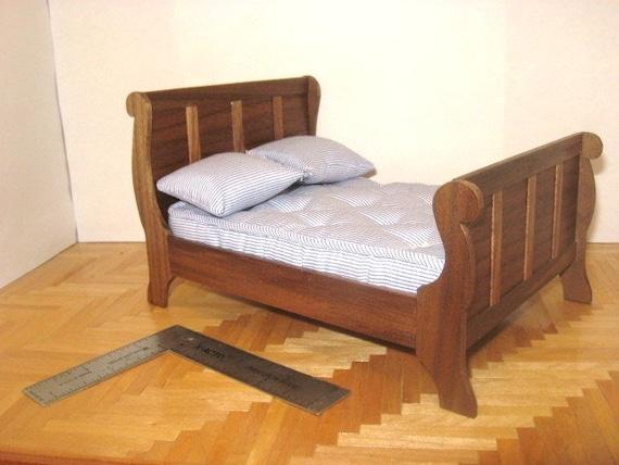 Miniature Sleigh Bed
