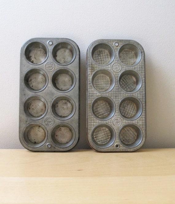 Vintage Ecko Muffin Baking Tins 080 Chicago Get Organized