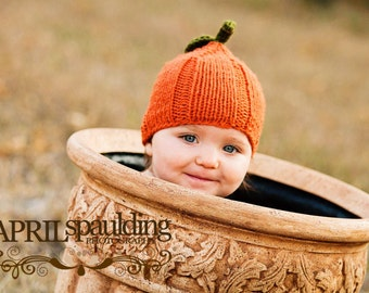 Fall Hat Fall Cap Fall Beanie Orange Hat