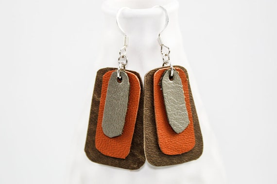 Leather Earrings (for Matt)