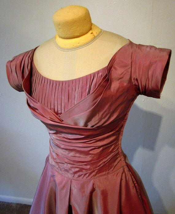 Fred Perlberg Dress AS IS Vintage party dress Dance Originals
