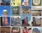 20 Atlanta Marble Coasters, Custom Order