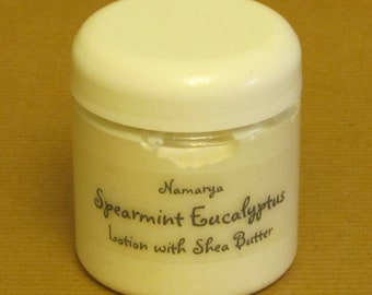 Spearmint Eucalyptus Lotion with Shea Butter