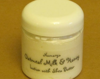 Oatmeal Milk & Honey Lotion with Shea Butter