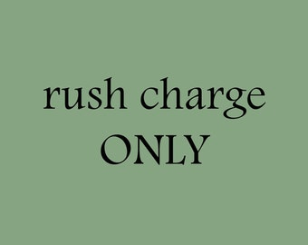 Rush Charge - Standard wait time cut in 1/2