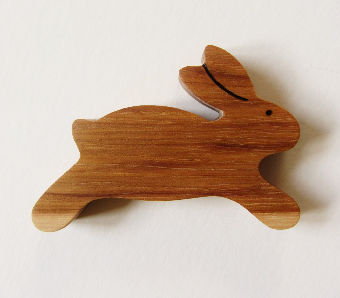 Toys Are Us Wooden Toys : Wooden bunny teether natural rabbit teething toy heirloom