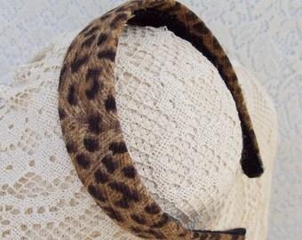 Classic Leopard Headband