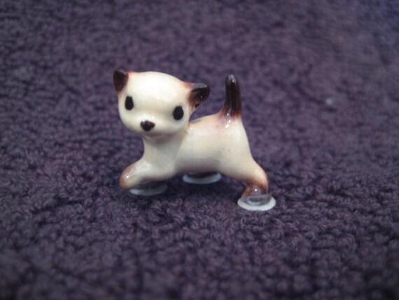 Hagen Renaker Tiny Siamese Cat Kitten