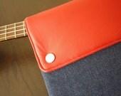 """New 13"""" MacBook AIR sleeve / MacBook 13 Air case / 11"""" MacBook AIR sleeve / MacBook Air case / MacBook cover - Denim"""