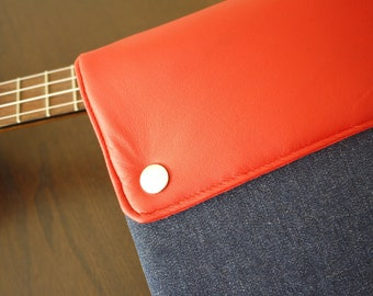 "New 13"" MacBook AIR sleeve / MacBook 13 Air case / 11"" MacBook AIR sleeve / MacBook Air case / MacBook cover - Denim"
