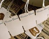 1 Dozen Vintage Boston Store String Tags