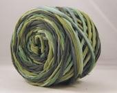 T Shirt Yarn Hand Dyed 60 yards - Jungle Apple/Kelly Green/Dark Green