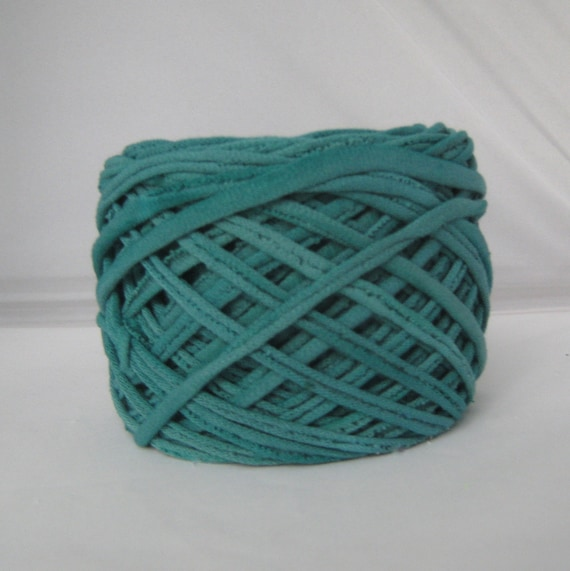 T shirt yarn hand dyed teal 60 yards from for T shirt printing st charles mo