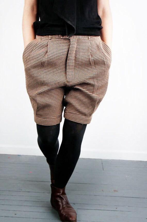 Winter DIAMOND pattern tomboy shorts for petite XS/SM