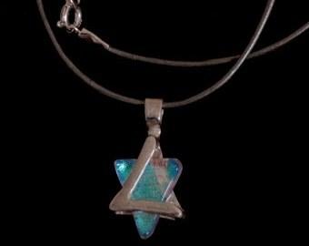 Star of David, Magen David necklace, Jewish Star necklace, Bar mitzvah, David Shield, Judauca jewelry,jewellery from Israel.